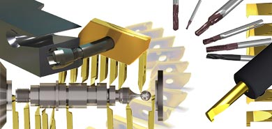 WhizCut Full Swiss Cutting Tool Line